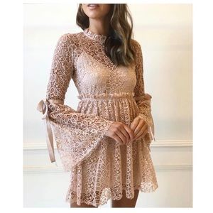Alice McCall Back To You Dress in Nude